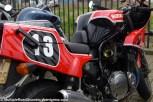 Suzuki Bandit based XR69 replica parked outside