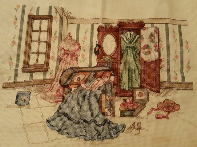 Mom's Cross Stitch - Dresses