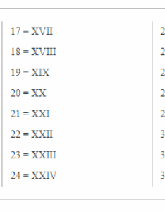 Roman numerals chart also free printable charts multiplication table rh multiplicationtablefo