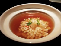 Seaweed Soup with Tofu and Scallops