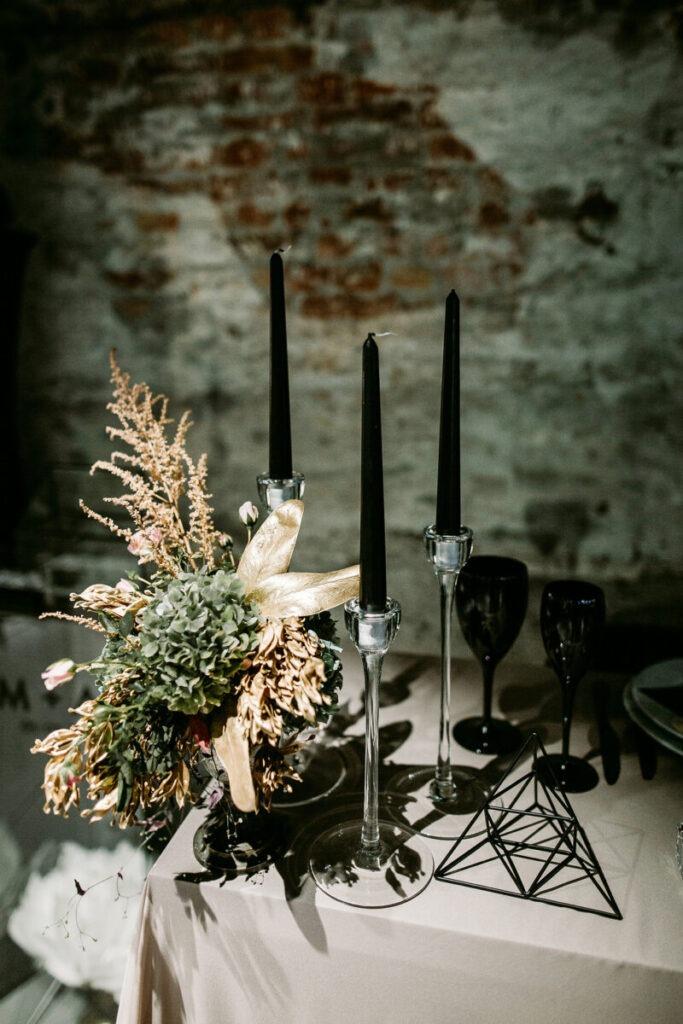 svećnjaci venčanje