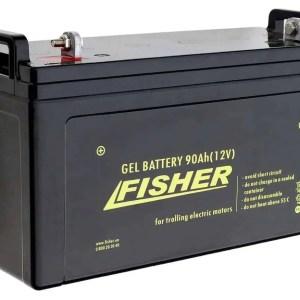 Аккумулятор гелевый Fisher 12V 90Ah