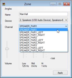 Zone-Mono Channels