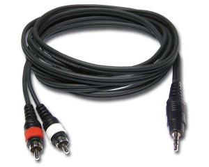 RCA to Mini Jack cable