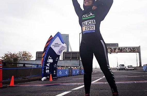 alicia keys celebrity marathoner