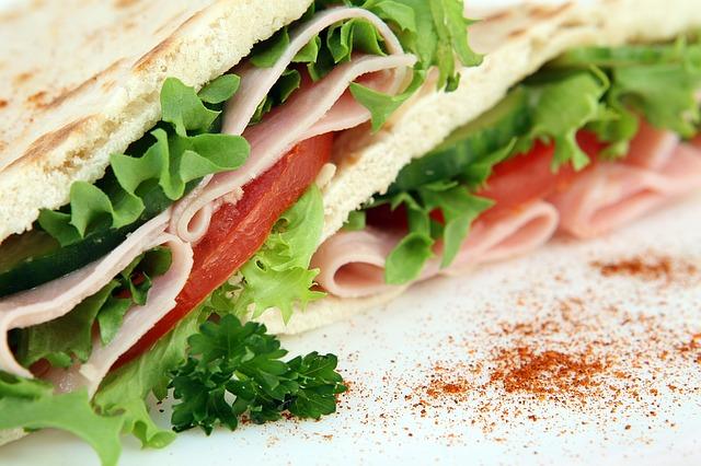 fast food breakfast sandwich