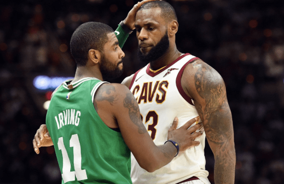 How will Kyrie's apology to LeBron set things right for…