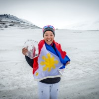 Meet Joyette Jopson, the first Filipina to finish the Arctic marathon