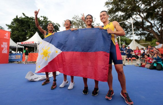 Fer Casares wins gold for PH triathlon team in Southeast…