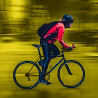 Cyclists, here's what to do if a car hits you