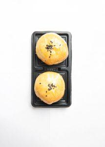 two egg yolk