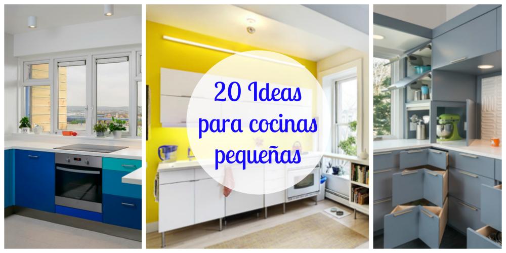 20 Ideas para cocinas pequeas  multitaskinggirls