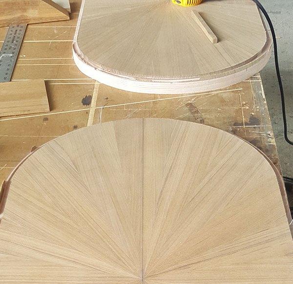 Carpentry Work Done by Multitech Marine