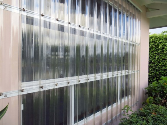 Lexan Clear Shutters