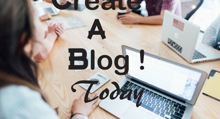 How to create a blog today