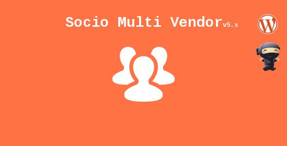 Socio Multi Vendor for WooCommerce
