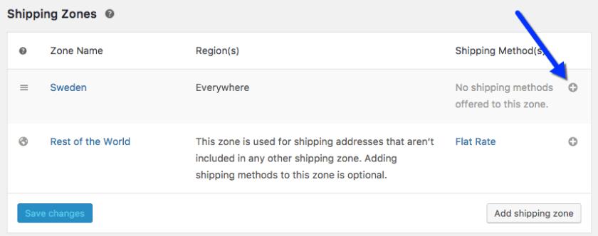Free Shipping method