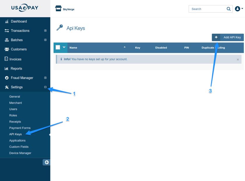 WooCommerce USA ePay API