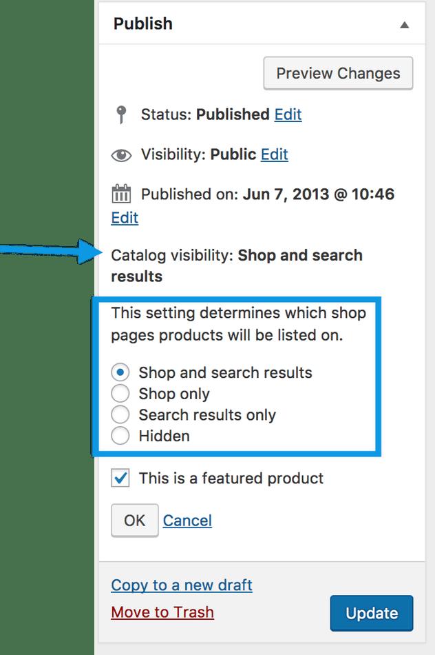 image catalog visibility