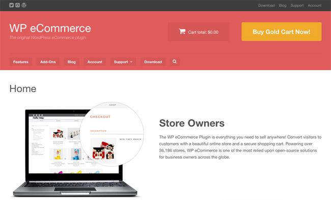 WP open source eCommerce Platform