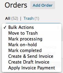 WooCommerce FreshBooks Bulk Invoice