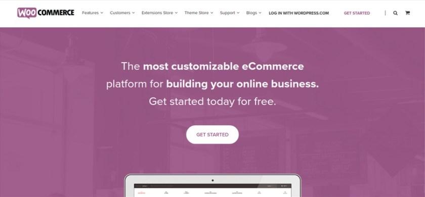 WooCommerce open source eCommerce platform