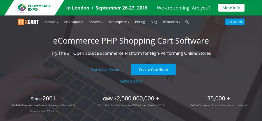 X-cart open source eCommerce platform