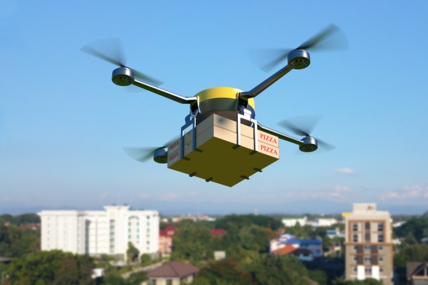 eCommerce drone