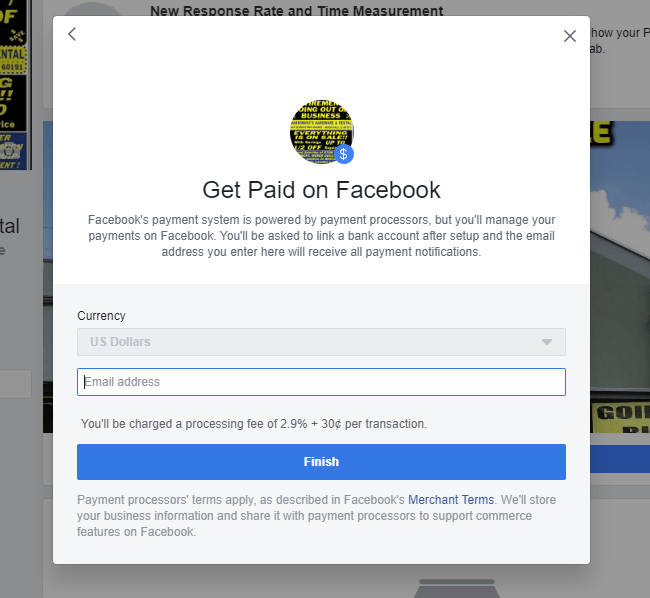 Get Paid on Facebook