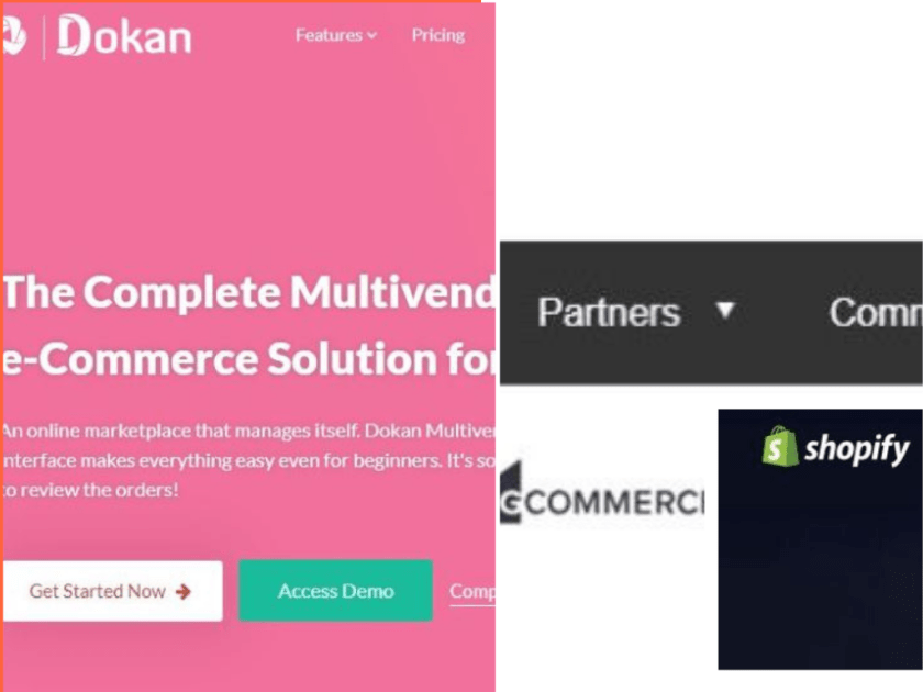 Dokan vs Magento vs Bigcommerce vs Shopify