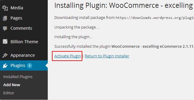 Activate WooCommerce to activate Multi-vendor Store