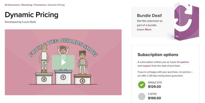 WooCommerce Dynamic Pricing to Improve WooCommerce Sales