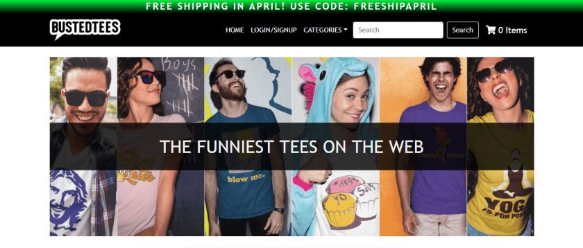 Busted Tees Value Proposition