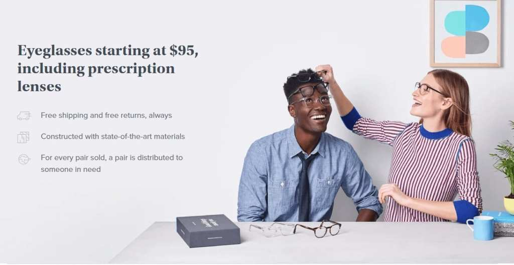 Warby Parker Value Proposition