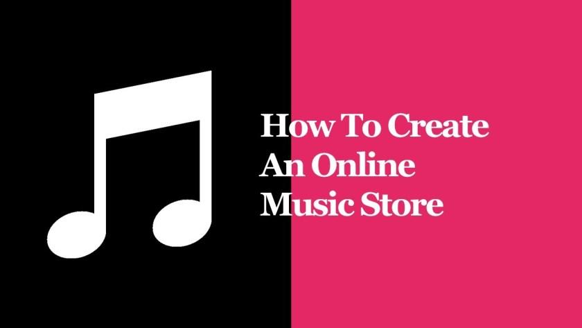 Create Online Music Store