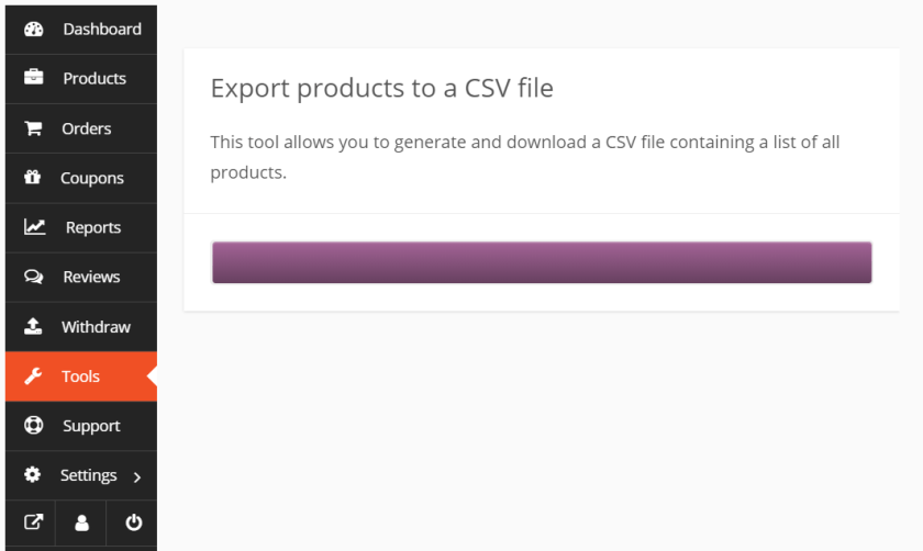 Dokan Product Export CSV Generating