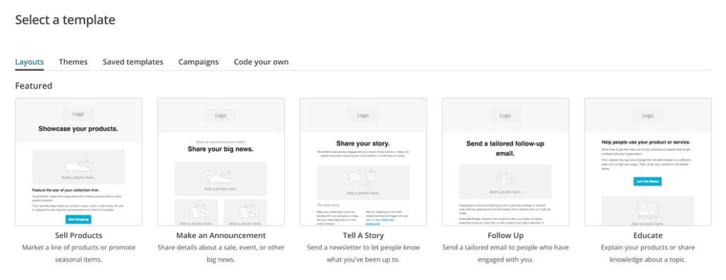MailChimp Pick Structure