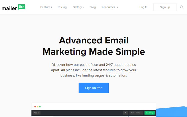 Mailerlite: Email Marketing Service