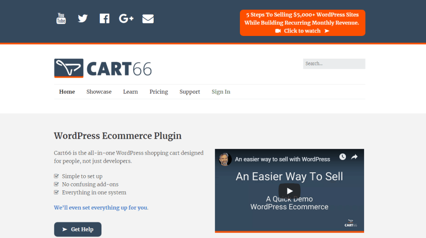 Best WordPress eCommerce Plugins-Cart66