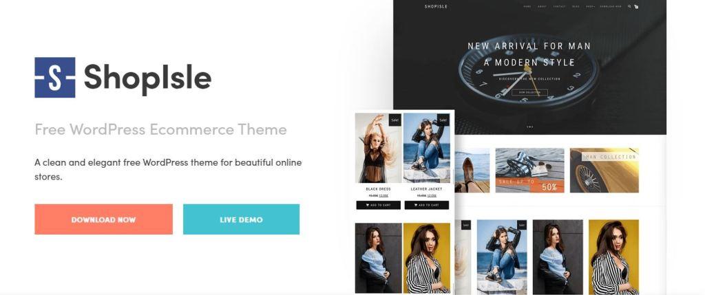 WooCommerce themes Shopisle