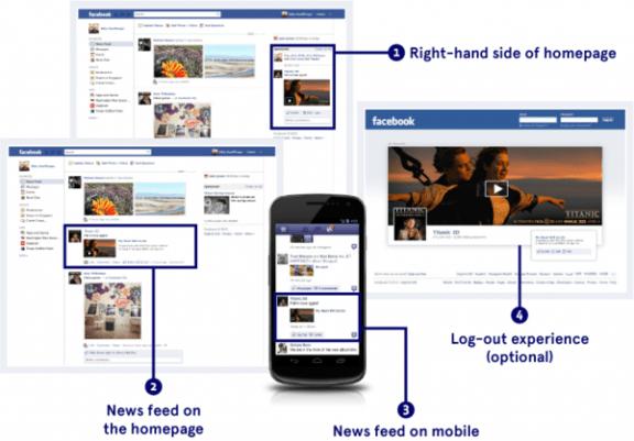 Facebook Ads vs Google AdWords Ads Concept