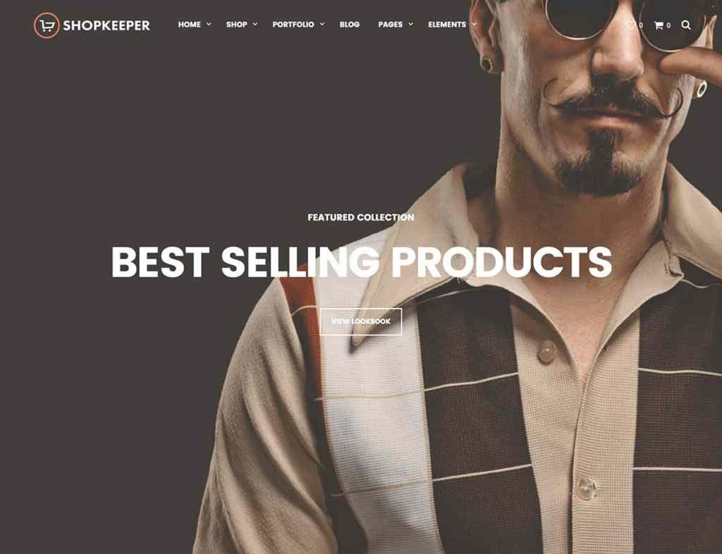 Shopkeeper eCommerce Theme