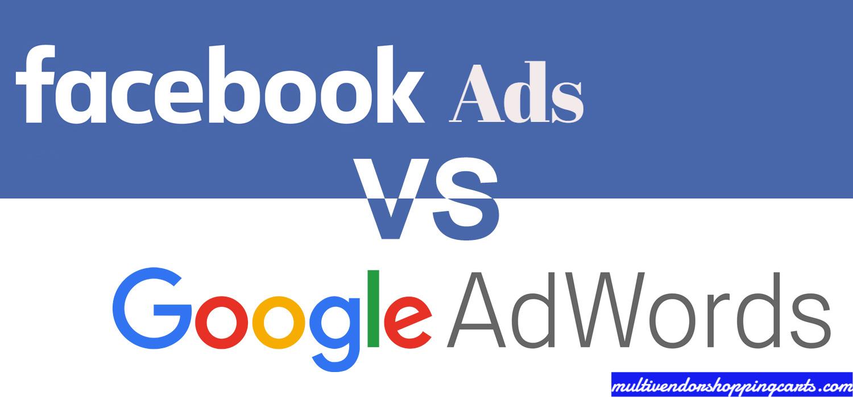 Facebook Ads vs Google AdWords for eCommerce