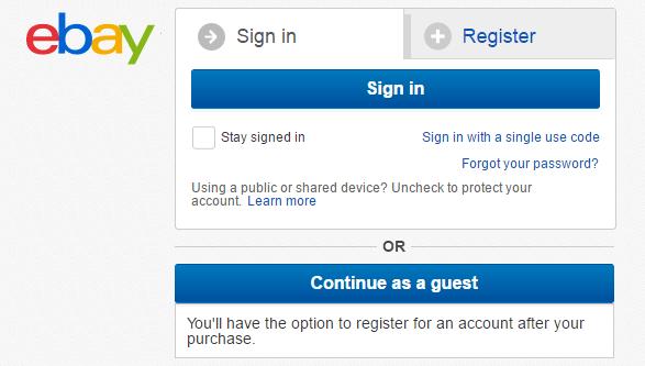Allow Guest Checkout