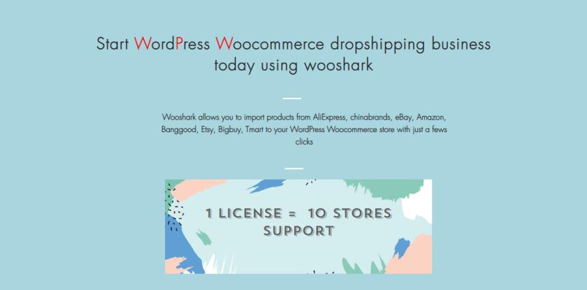 Wooshark dropshipping for WordPress Store