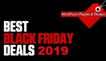 Best Black Friday Deals on WordPress Plugins and Themes – 2019