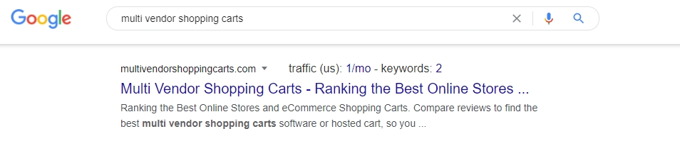 Rank for Your Domain Name