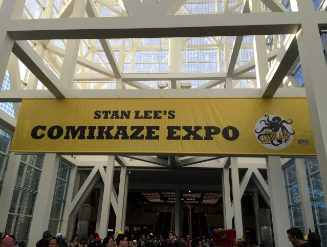Comikaze Expo 2015 (Welcome Banner)