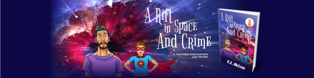 A Rift in Space and Crime is out now!