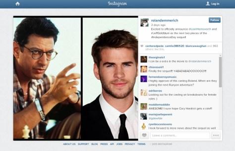 roland emmerich instagram